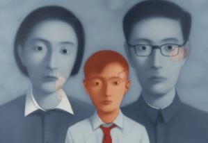 Estampe Zhang Xiaogang