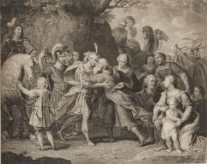 Estampe Peter Paul Rubens