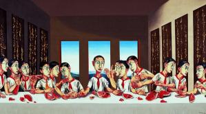 Estampe Zeng Fanzhi