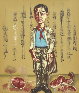 Peinture Zeng Fanzhi