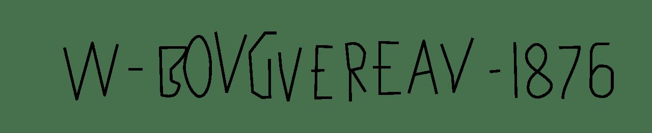 Expertise signature William Adolphe Bouguereau