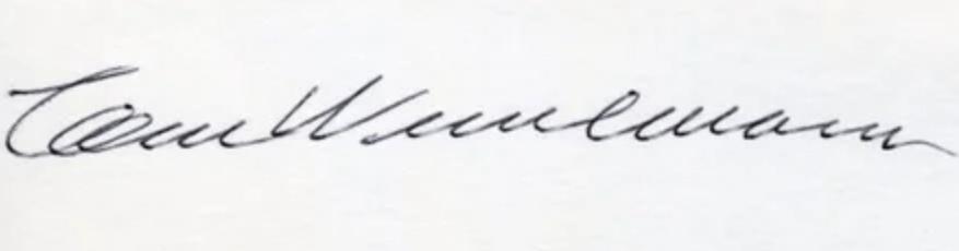 expertise signature Wesselmann