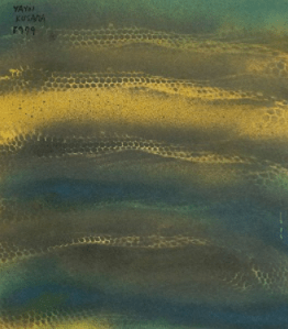 Peinture Yayoi Kusama