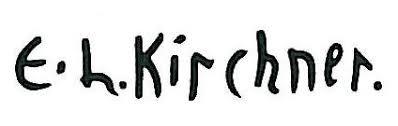 Expertise signature kirchner