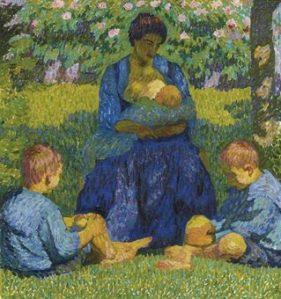 Peinture Giovanni Giacometti