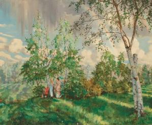 Peinture Konstantin Andreevich Somov