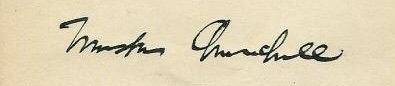 signature Churchill