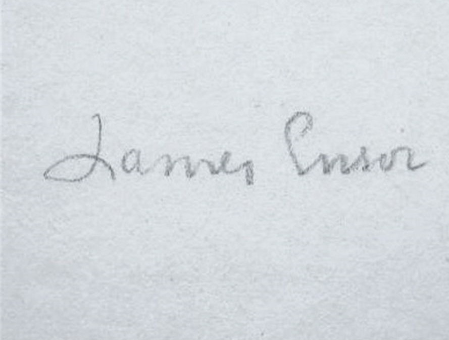 expertise signature james ensor