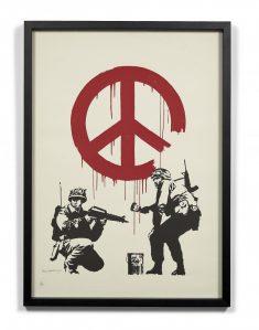 Sérigraphie Banksy