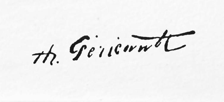 expertise signature géricault