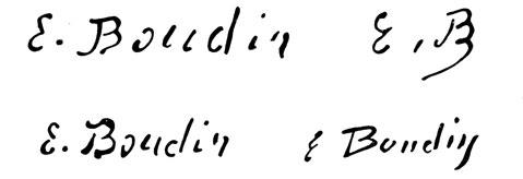 expertise signature boudin