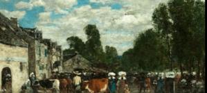 Peinture Eugène Boudin