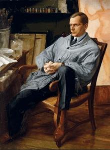 Peinture Alexander Evgenevich Iacovleff