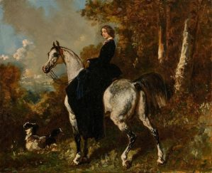 Peinture Alfred de Dreux