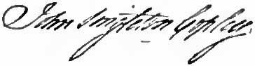 John Singleton Copley signature