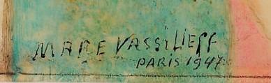 expertise signature vasslieff