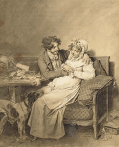 Dessin Louis Léopold Boilly