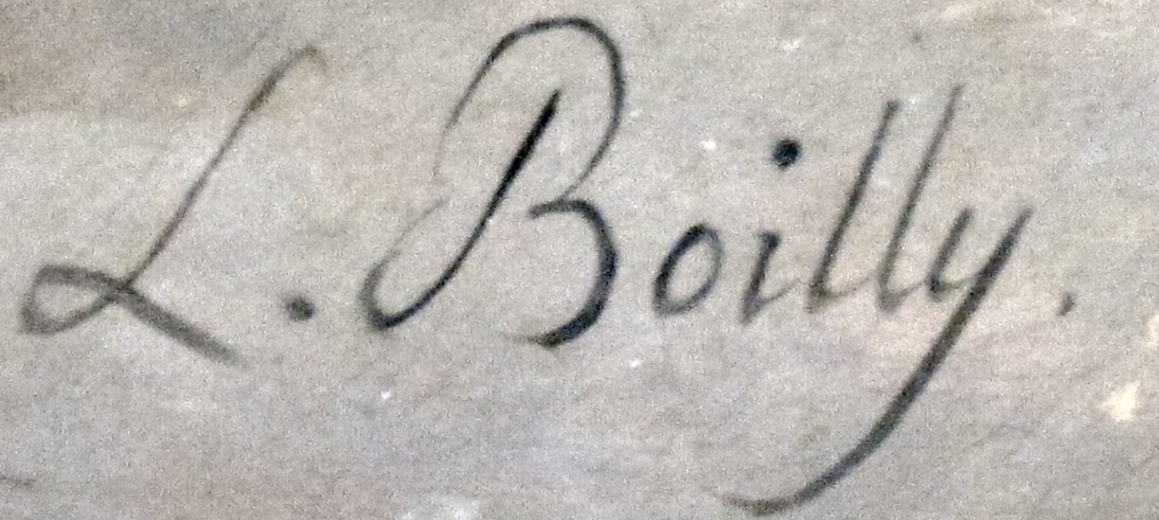 expertise signature boilly