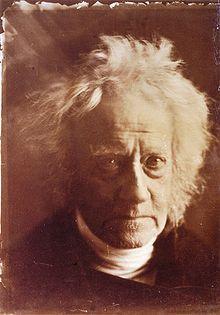 Portrait de Sir John Herschel, par Julia Margaret Cameron