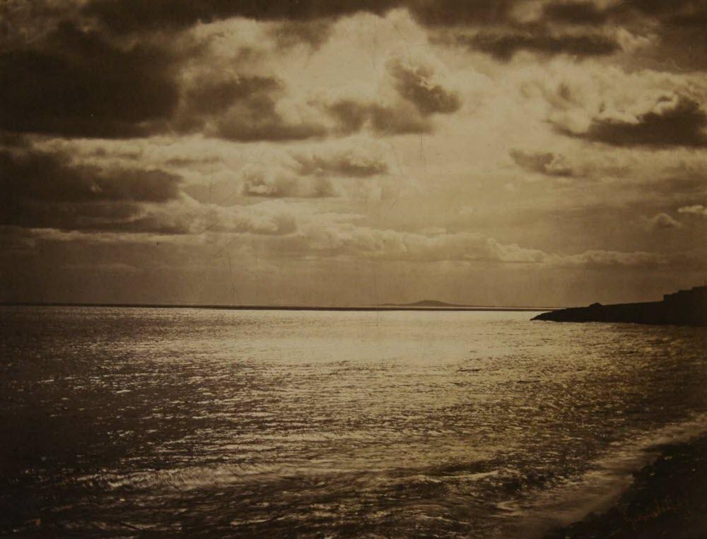 La mer Méditerranée à Sète, Gustave Le Gray