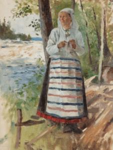 Peinture Albert Edelfelt