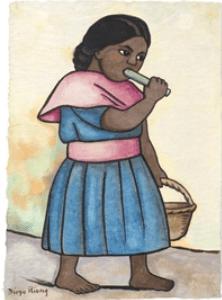 Dessin Diego Rivera