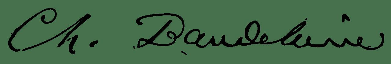 expertise signature baudelaire