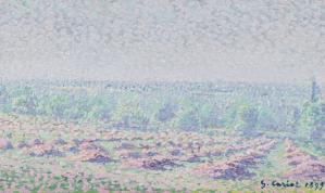 Peinture Gustave Cariot
