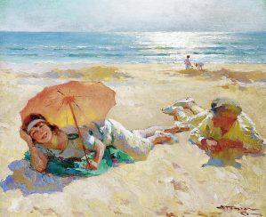 Peinture Charles Atamian