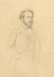 Dessin Eugène Emmanuel Amaury-Duval
