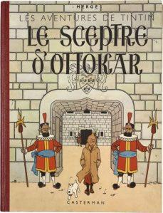 HERGÉ TINTIN LE SCEPTRE D'OTTOKAR