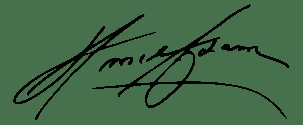expertise signature Ansel Adams