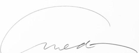expertise signature Richard Avedon