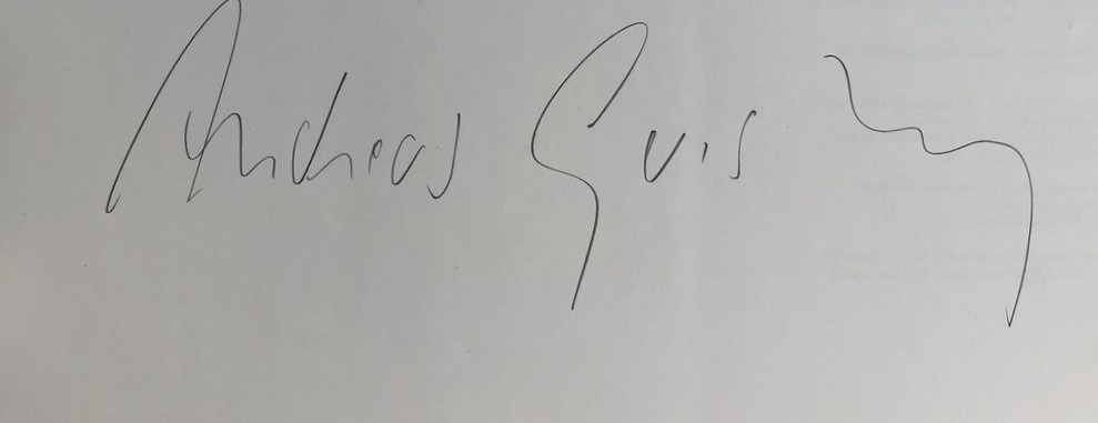 expertise signature gursky