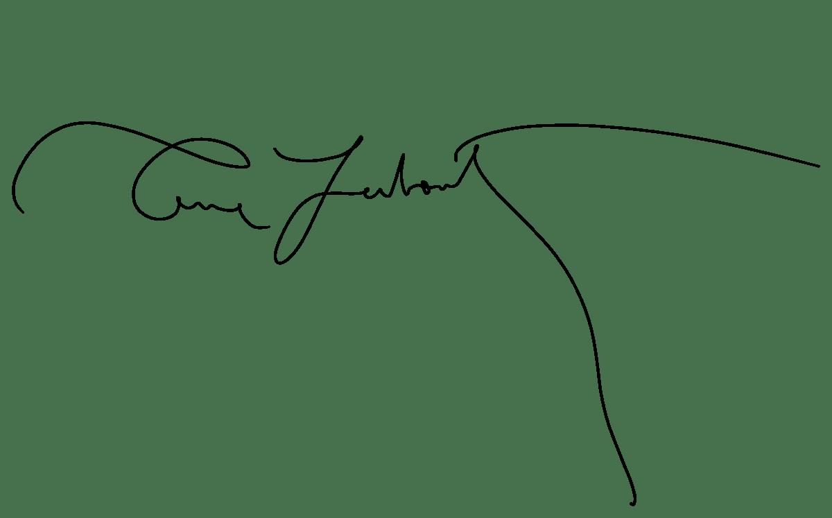 expertise signature Annie Leibovitz