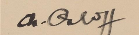 expertise signature Chana Orloff