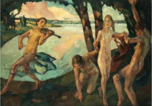 Peinture Leo Putz