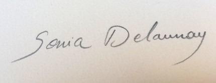 expertise signature sonia delaunay