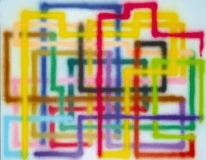 Peinture Bernard Frize
