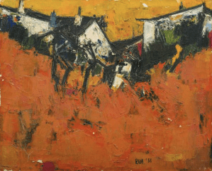 SYED HAIDER RAZA peinture