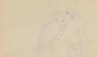 dessin Klimt