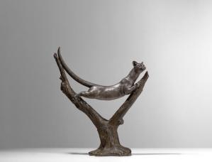 Sculpture Edouard Manuel Sandoz