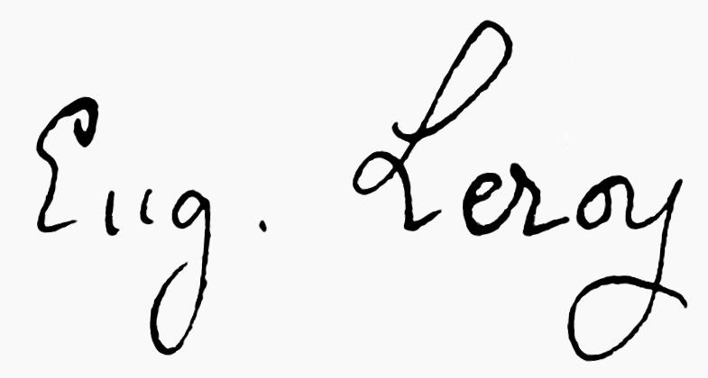 expertise Eugène Leroy