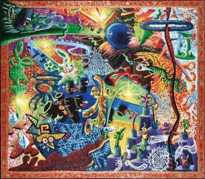 Peinture Hervé Di Rosa