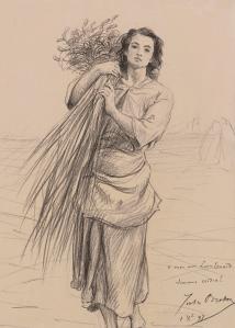 Dessin Jules Breton