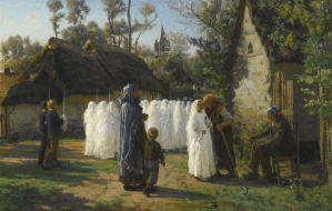 Peinture Jules Breton