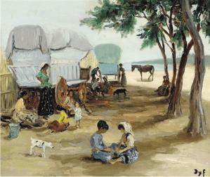Peinture Marcel Dyf