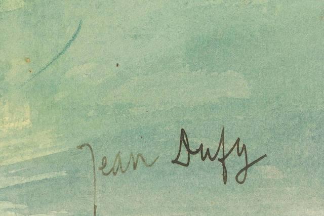 expertise signature dufy
