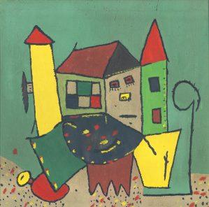 Peinture Gaston Chaissac