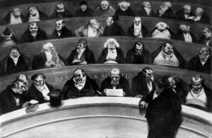 Estampe Honoré Daumier